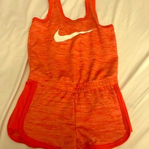 Nike One Pieces - Red Nike Dry Fit romper!